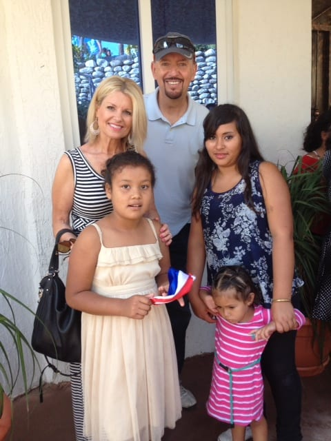 Pastor Steve and Holly with young family